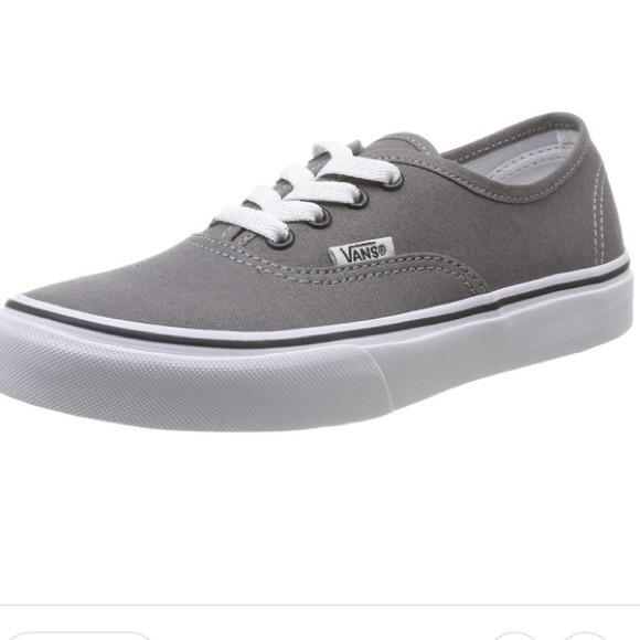 Vans Shoes | Gray Classic Vans Womens 9